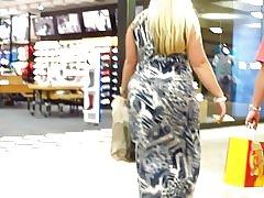 """Loira bbw grossa compras dia dos pais af """"sexy""""!"""